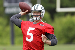 Jets Hackenberg Progress Football