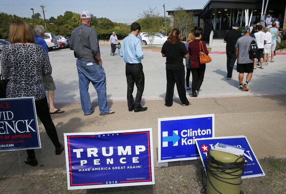 Campaign 2016 Texas Voting