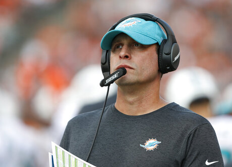 Dolphins Gase Fired Football
