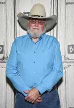FILE - In this Oct. 23, 2017 file photo, country music artist Charlie Daniels participates in the BUILD Speaker Series to discuss