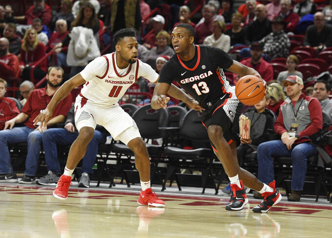Georgia Bulldogs at Arkansas Razorbacks 1/29/2019