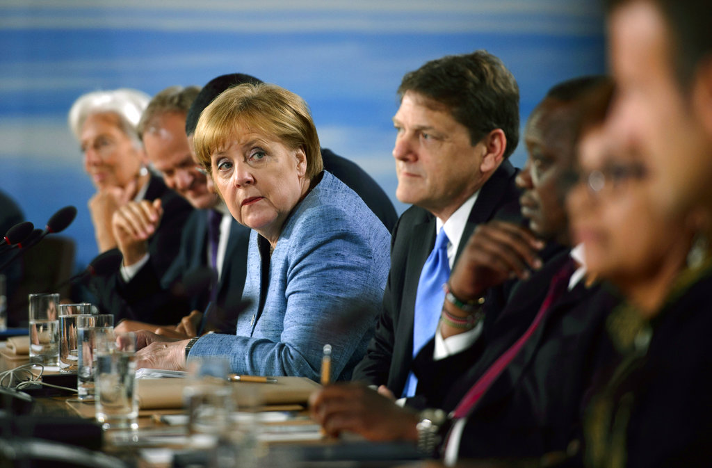 Angela Merkel: German chancellor meets with Trump, Obama, Bush through the years