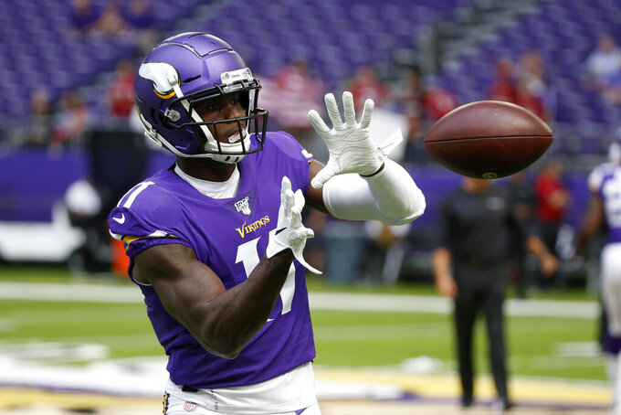 Injury to Beebe brings Vikings back to Sherels and Treadwell