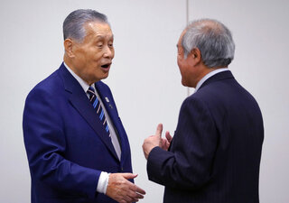 Yoshiro Mori, Shunichi Suzuki,