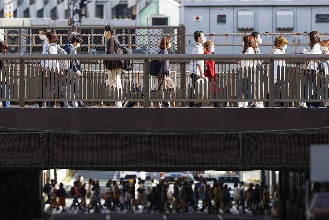 Japan puts Osaka, 2 other areas under virus semi-emergency