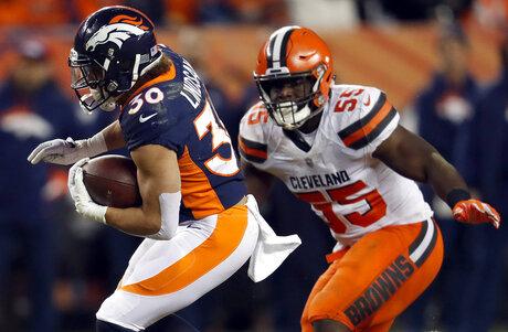Browns Broncos Football