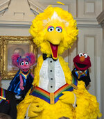 2019 Kennedy Center Honorees, Abby Cadabby, Big Bird, and Elmo, characters from