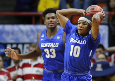 NCAA Buffalo Arizona Basketball