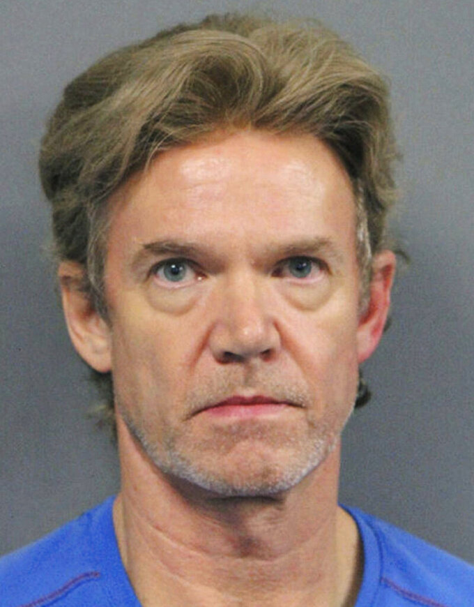 FILE - This undated file photo released by the Jefferson Parish Sheriff's Office shows Ronald Gasser, accused of killing former NFL running back Joe McKnight during a road rage dispute. An appeals court granted the Louisiana man a new trial because he was convicted by a split jury of fatally shooting McKnight. Glasser's 30-year sentence and manslaughter conviction were vacated Wednesday, July 15, 2020, by the Louisiana 5th Circuit Court of Appeal, news outlets reported. (Jefferson Parish Sheriff's Office via AP, File)