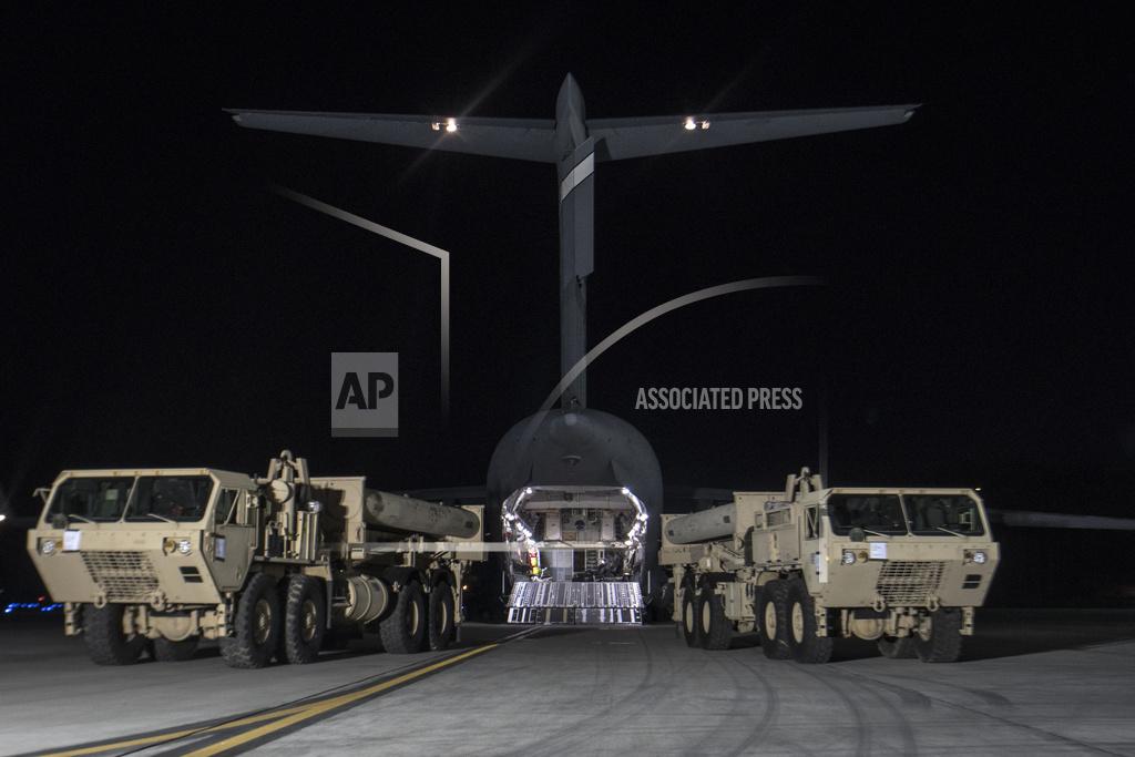 South Korea Koreas Tension THAAD