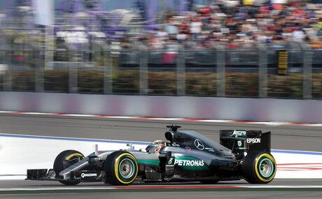 Russia F1 GP Auto Racing