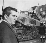 In this 1968 photo Baltimore Mayor Thomas D'Alesandro looks at the ruins of a Baltimore building, one of many that burned during the weekend rioting, in Baltimore, Md. D'Alesandro III, the brother of House Speaker Nancy Pelosi, has died. He was 90. A spokesman for Pelosi said D'Alesandro died Sunday, Oct. 20, 2019. (William L. LaForce/The Baltimore Sun via AP)