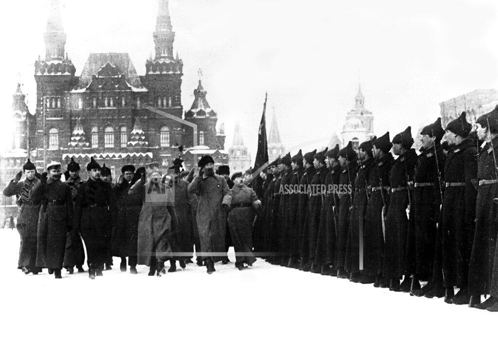 Watchf Associated Press International News   RUSSIA APHSL1617F RUSSIA CHEKA UNIT REVIEWED