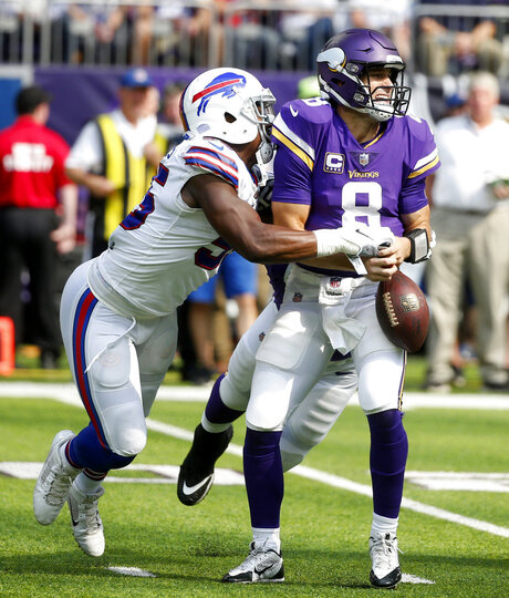 APTOPIX Bills Vikings Football
