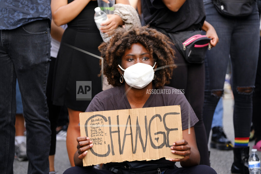 America Protests Los Angeles
