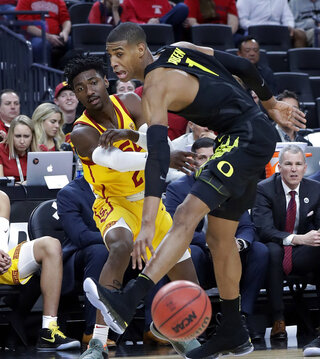 P12 Oregon USC Basketball