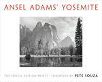 """This cover image released by Little Brown and Company shows """"Ansel Adams' Yosemite,"""" by Ansel Adams. The book includes images from Yosemite National Park selected by Adams before his death in 1984. (Little Brown and Company via AP)"""