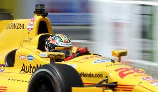 IndyCar alabama Hunter-Reay Auto Racing