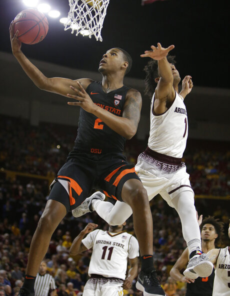 Oregon St Arizona St Basketball