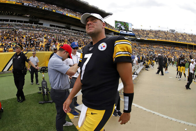 Roethlisberger, Brees knocked out of games with injuries