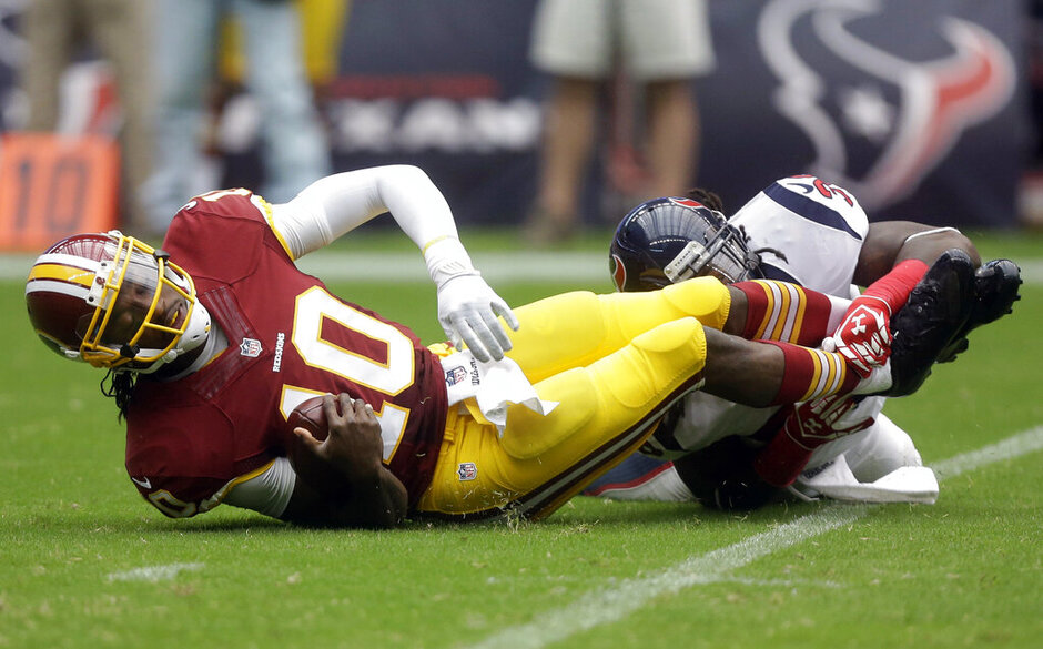 Robert Griffin III, D.J. Swearinger