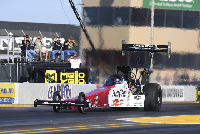 Hines wins NHRA Mickey Thompson Pro Bike Battle
