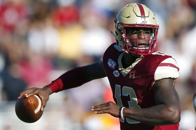 Boston College, Louisville look to shut down rushing attacks