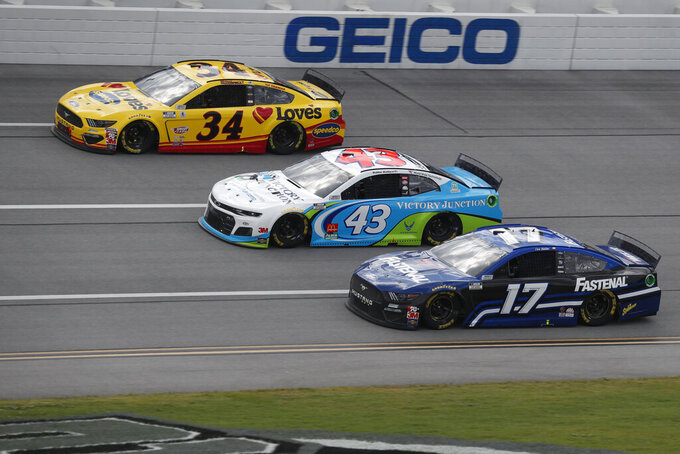 Blaney wins at Talladega after NASCAR unites behind Wallace