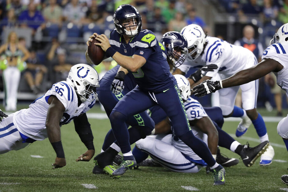 Colts Seahawks Football