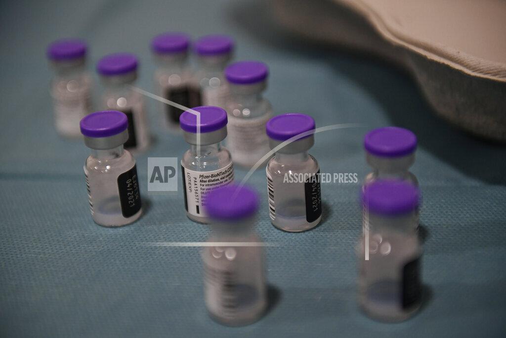 Virus Outbreak Spain Nursing Home