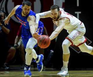 NIT Boise St Utah Basketball
