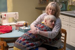 """This image released by Amazon Studios shows Max Harwood, left, and Sarah Lancashire in a scene from """"Everybody's Talking About Jamie."""" (Amazon Studios via AP)"""