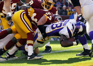 Adrian Peterson, Reed Doughty