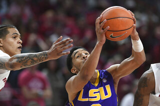 LSU Arkansas Basketball