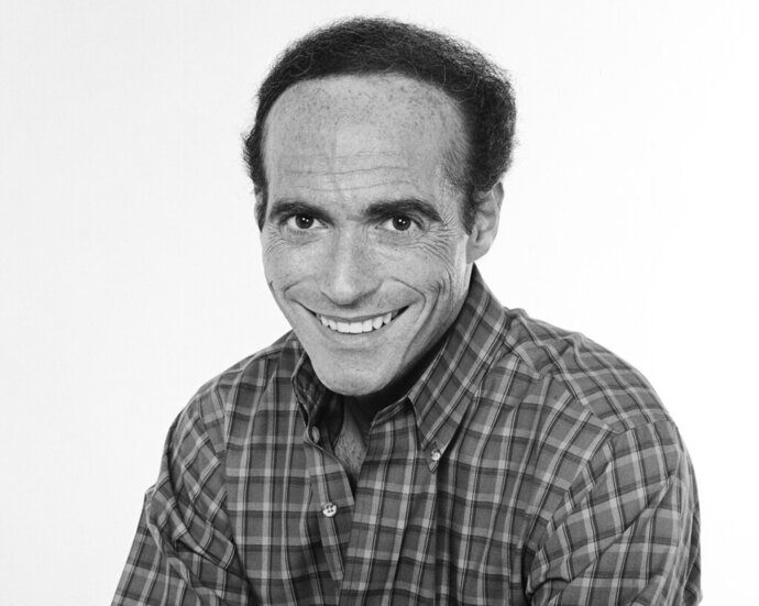 "This 1985 image released by NBC shows executive producer Thomas L. Miller. Miller, who produced a string of hit TV comedies included ""Full House"" and ""Perfect Strangers"" before beginning a new chapter as a Tony Award-winning theater producer, has died. He was 79. Miller died Sunday in Salisbury, Connecticut, from complications of heart disease, a spokeswoman for Miller's family said Wednesday. (Frank Carroll/NBCU Photo Bank via AP)"