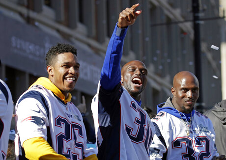 Eric Rowe, Jason McCourty, Devin McCourty