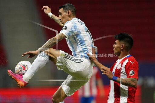 APTOPIX Brazil Argentina Paraguay Copa America Soccer