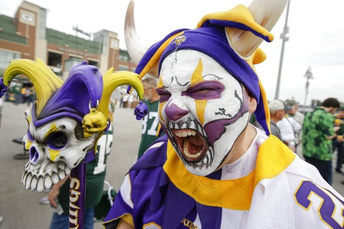 Minnesota Vikings at Green Bay Packers 9/15/2019