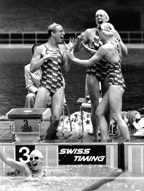 Swim Paul Newberry The Last Gold