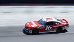 Driver Ryan Reed practices for a NASCAR Xfinity Series auto race on Friday, April 13, 2018 in Bristol, Tenn. (AP Photo/Wade Payne)