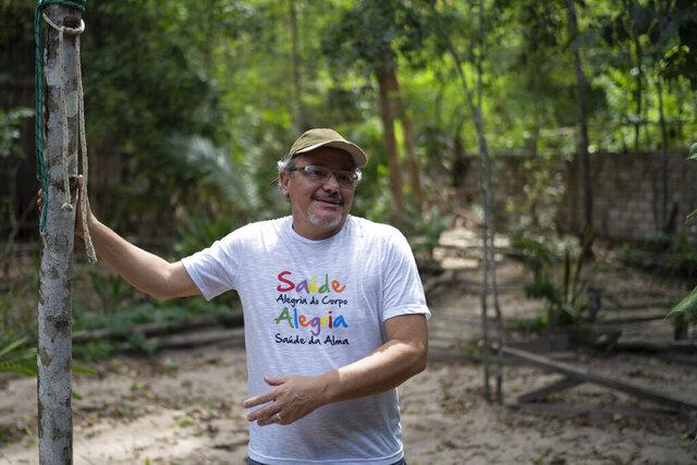 In this Dec. 1, 2019 photo, Caetano Scannavino, coordinator of NGO