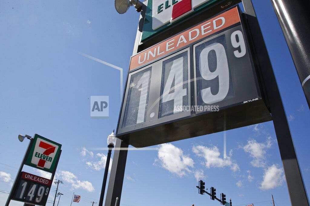 Virus Outbreak Oklahoma City Gas Prices