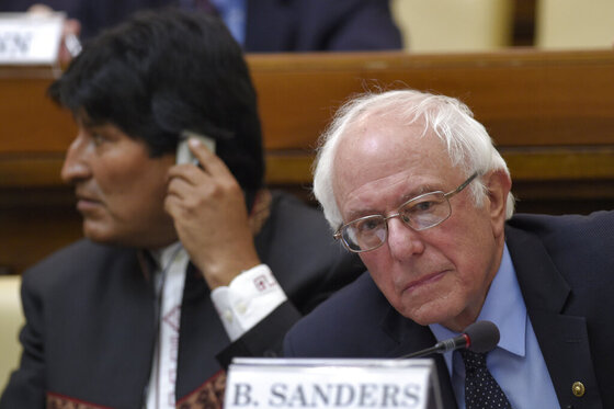 Vatican US Sanders
