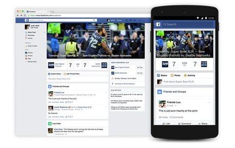 Super Bowl-Facebook Football