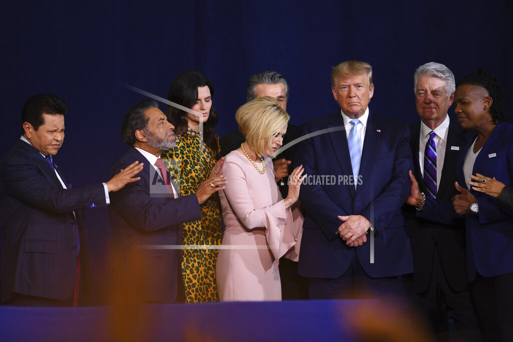 """President Donald J. Trump at the """"Evangelicals for Trump"""" Coalition Launch"""