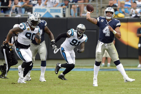 Cowboys Panthers Football