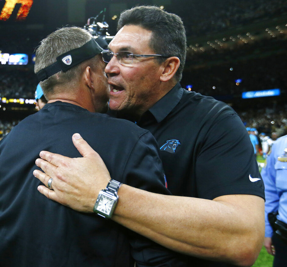 Sean Payton, Ron Rivera