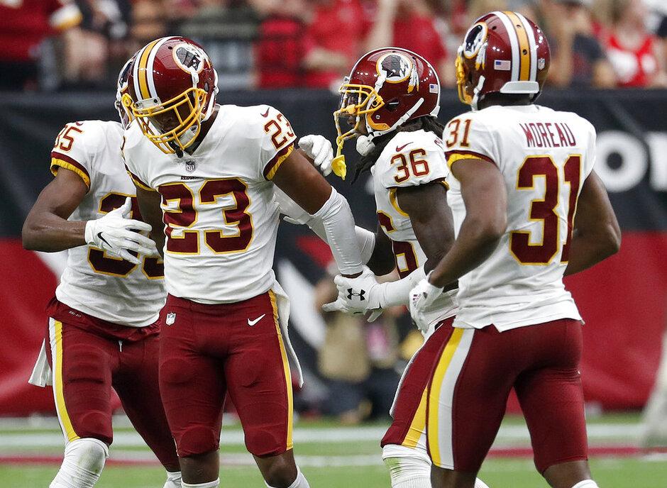 Redskins Cardinals Football