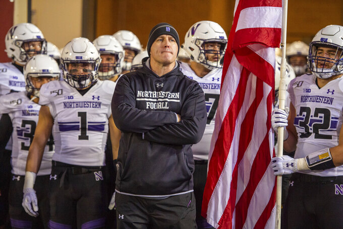 Northwestern hopes turnaround starts by beating Purdue