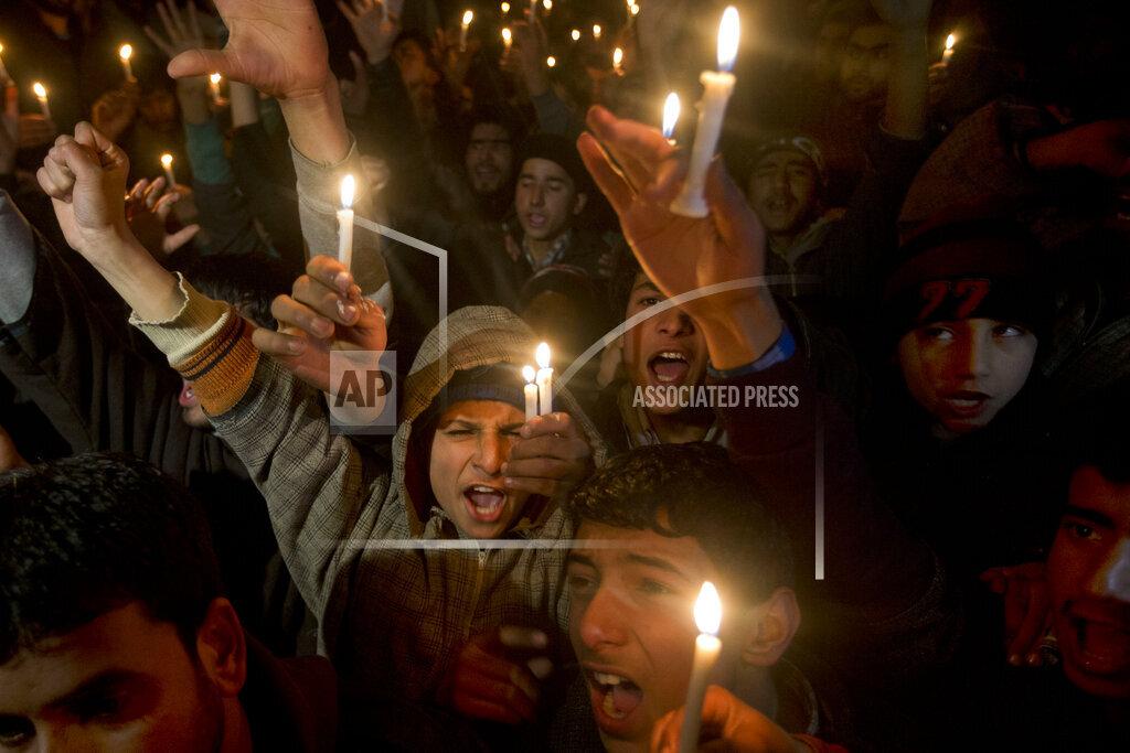 India Kashmir Saudi Execution Protest